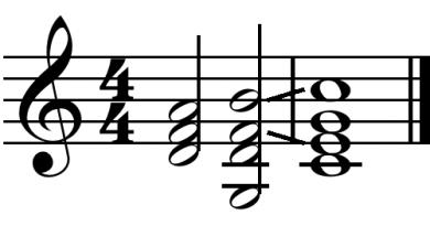 harmonic cadences