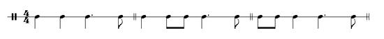 Polka rhythm meter