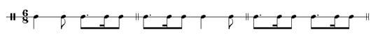 Siciliano rhythms